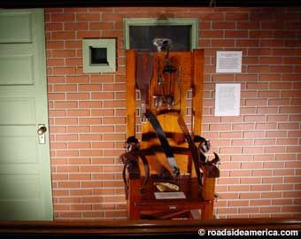 Texas Prison Museum, Old Sparky.