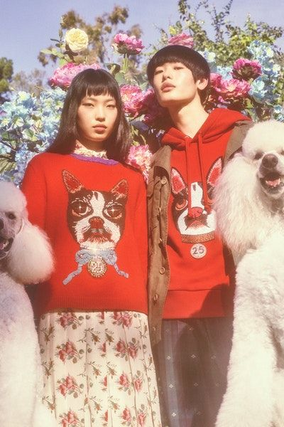 a2a0dce19 Gucci Chinese New Year Capsule Collection Zodiac Year of The Dog Petra  Collins