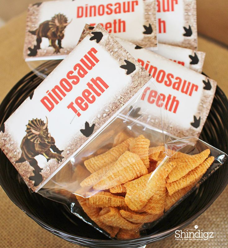 Shop our dinosaur party supplies for personalized favors, tableware, dinosaur standees, and more!