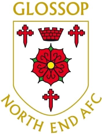 1886, Glossop North End A.F.C. (England) #GlossopNorthEndAFC #England #UnitedKingdom (L16395)
