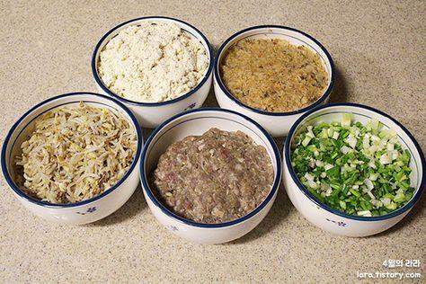 새해를 알리는 음식 만두빚기와 만두국끓이기 :: 4월의라라 | 맛있는 식탁으로의 초대