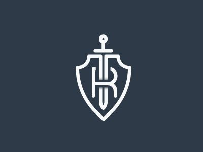 R+Shield+Sword Logo by Roman Namek