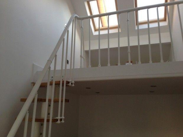 Garage conversion mezzanine floor