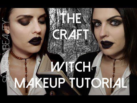 The Craft Witch Halloween Makeup Tutorial 2014 (Nancy Downs) | SmashinBeauty