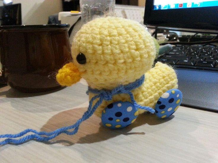 Amigurumi little duck