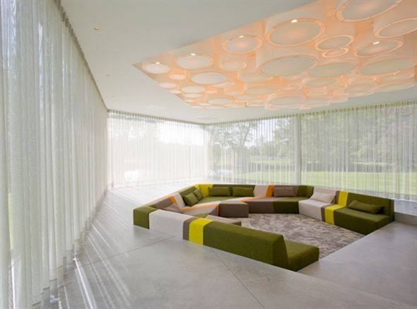Just As The Existing Bungalow Served As Inspiration And Starting Point For  Dick Van Gamerenu0027s Design, Which Completely Transformed It Into A  Contemporary ...