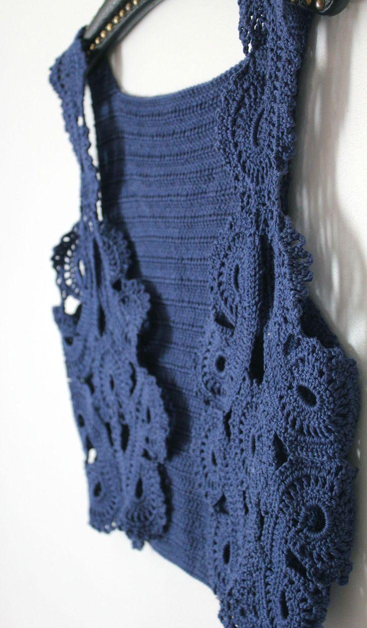 crocheted jacket by fairy's fabrics crochet, bolero, jacket
