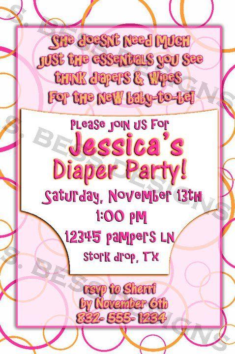 Baby Shower Invitations 2 Moms