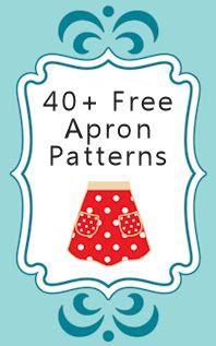 40 Free Apron Patterns & Tutorials