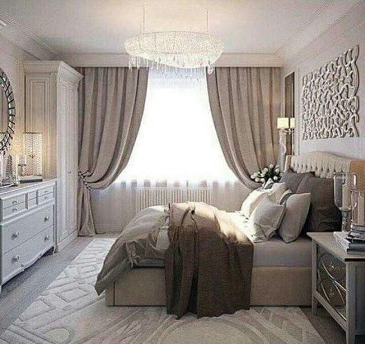Airy Bedroom, Closet Bedroom, Bedroom Storage, Bedroom Decor, Bedroom  Ideas, Simple Bedrooms, Romantic Bedrooms, Beautiful Bedrooms, Guest  Bedrooms