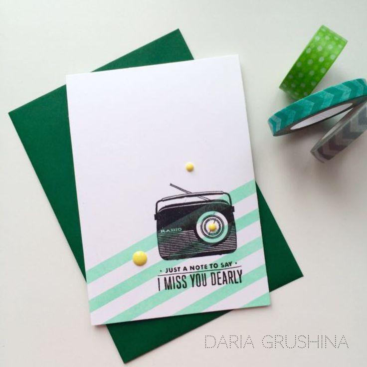 CARD SKETCH #22 | Sovushka Slavia
