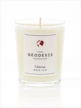 Bougie parfumée 70G Tubéreuse - Note florale suave et enivrante, la tubéreuse est originaire d'Amérique centrale.