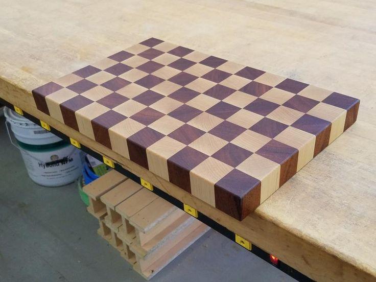 Butcherblock Cutting Board  by Steve66