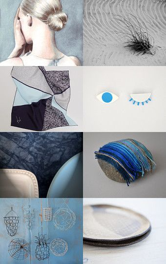 Blue finds by twomoons on Etsy--Pinned with TreasuryPin.com