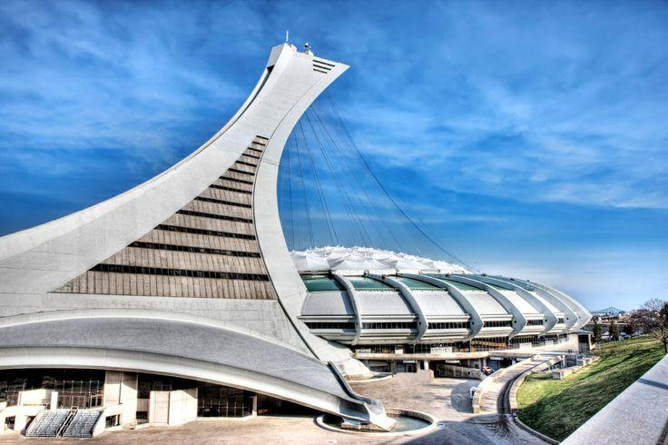 Montreal Olympic Stadium.