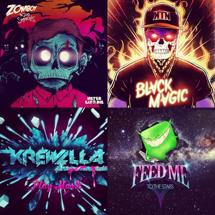 Zomboy // Kill The Noise // Krewella // Feed Me