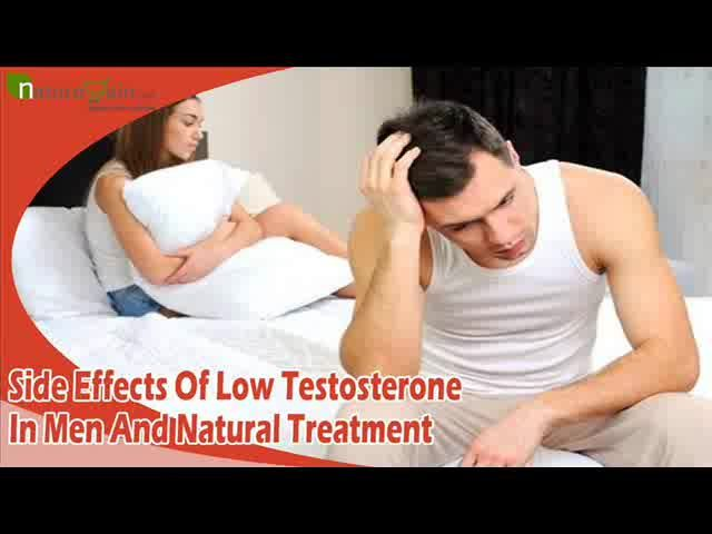Dear friend, in this video we are going to discuss about side effects of low testosterone in men. Musli Kaunch Shakti capsules are the best low testosterone natural treatment to resolve all kinds of negative side effects.  You can find more about side effects of low testosterone in men at  http://www.naturogain.com/product/natural-testosterone-booster-supplements/