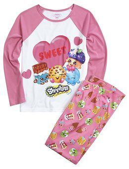 Shopkins Pajama Set | Girls Sleepwear Sleep & Undies | Shop Justice