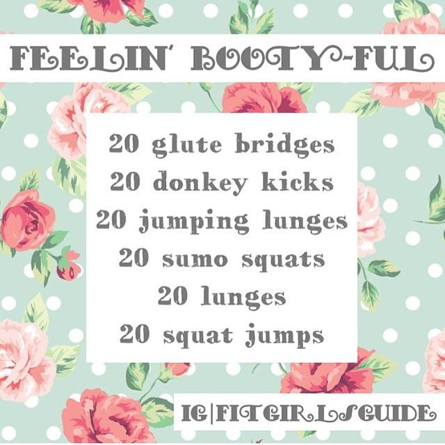 68 best fitgirlsguide images on pinterest girl workout add a little extra booty lovin in your day solutioingenieria Image collections