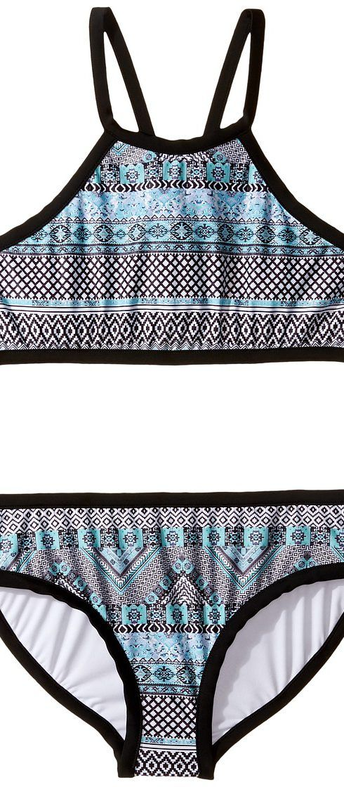 Seafolly Kids Aztec Tapestry Tankini Set (Little Kids/Big Kids) (Multi) Girl's Swimwear Sets - Seafolly Kids, Aztec Tapestry Tankini Set (Little Kids/Big Kids), 26260-960, Apparel Sets Swimwear, Swimwear, Sets, Apparel, Clothes Clothing, Gift, - Fashion Ideas To Inspire