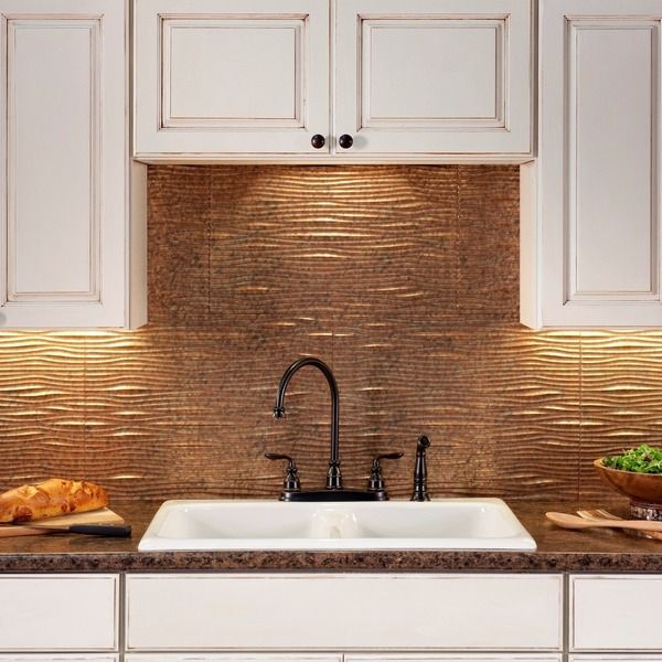 Fasade Backsplash Panels Transform An Ordinary Kitchen Or Bathroom Into A Stylish E Decorative Thermoplastic Backsplas Our Dream Life Rv Travel In
