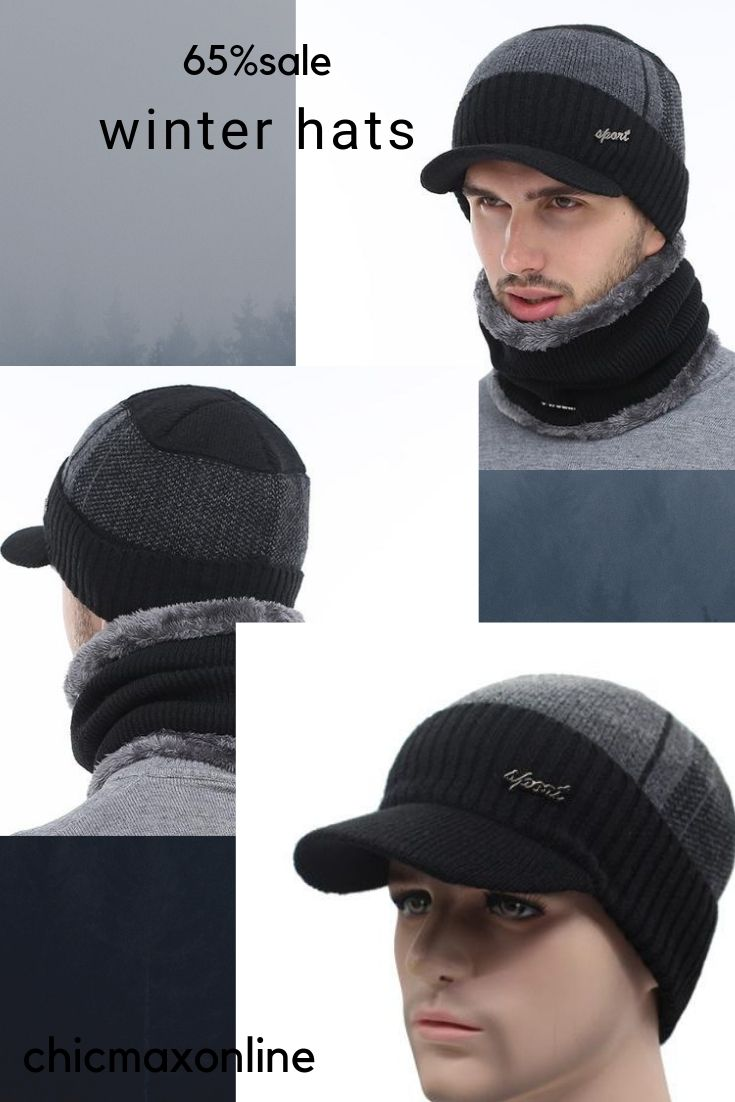 4d748b6e958 chicmaxonlineAETRUE Winter Hats Skullies Beanies Hat Winter Beanies For Men  Women Wool Scarf Caps Balaclava Mask Gorras Bonnet Knitted Hat FREE SHIPPING