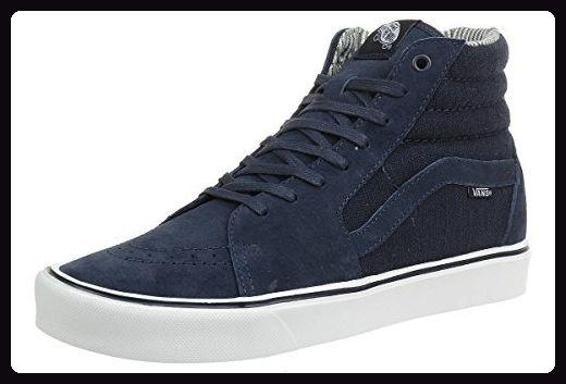 Vans  M Sk8-Hi Lite, Damen Sneaker, blau - dunkelblau - Größe: 36 - Sneakers für frauen (*Partner-Link)