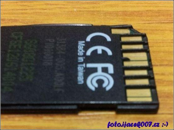 Oprava zobáčku SD karty