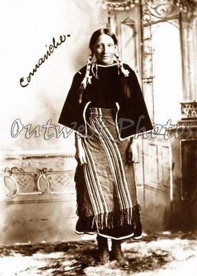 1890's Comanche Woman #DiscoverNativeAmerica #AIANTAEastern