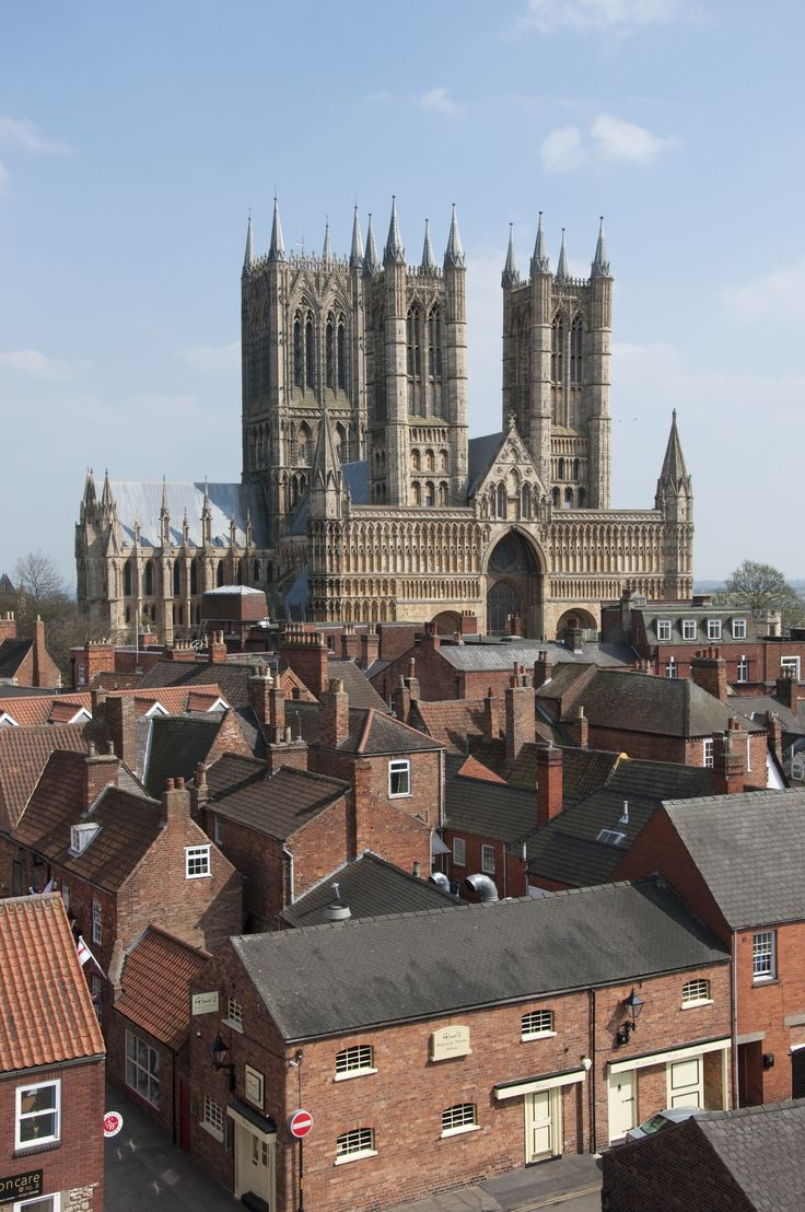 The medieval Lincoln Cathedral, England, (Credit: University of Lincoln)