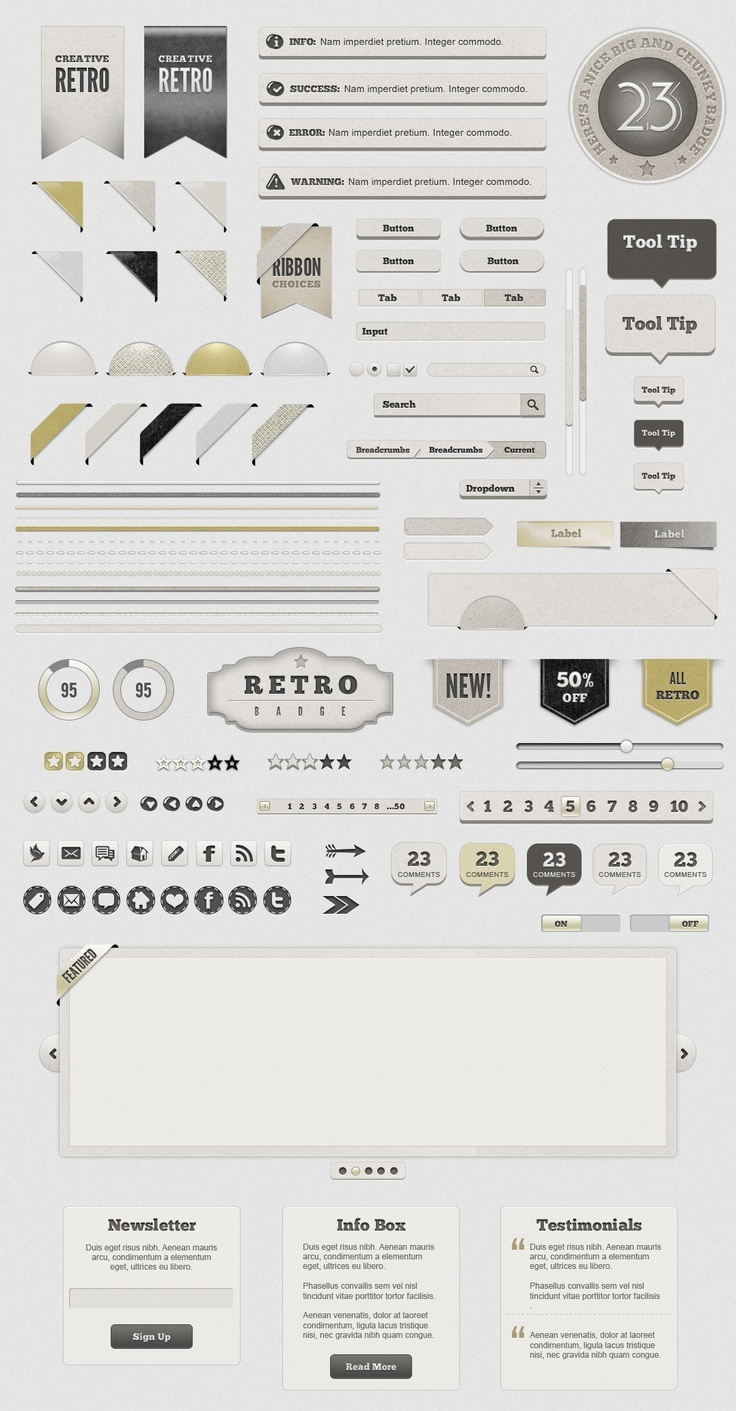 Light #Retro #UI