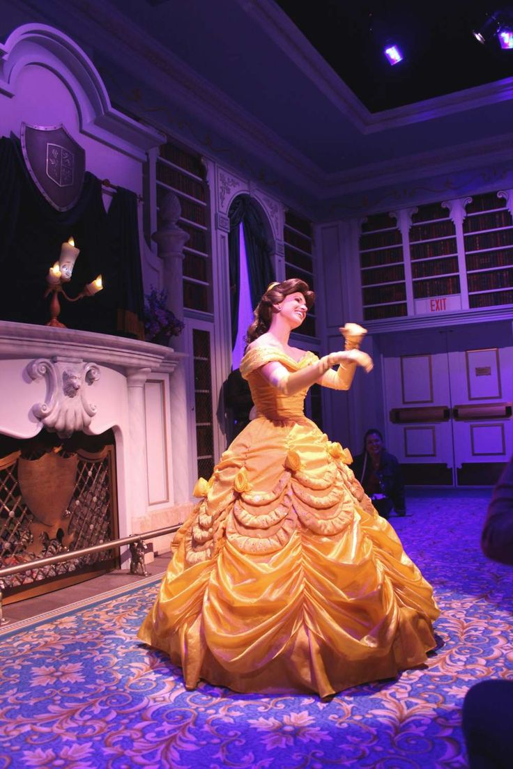 More about the New Fantasyland -- Among the new attractions is Enchanted Tales with Belle.