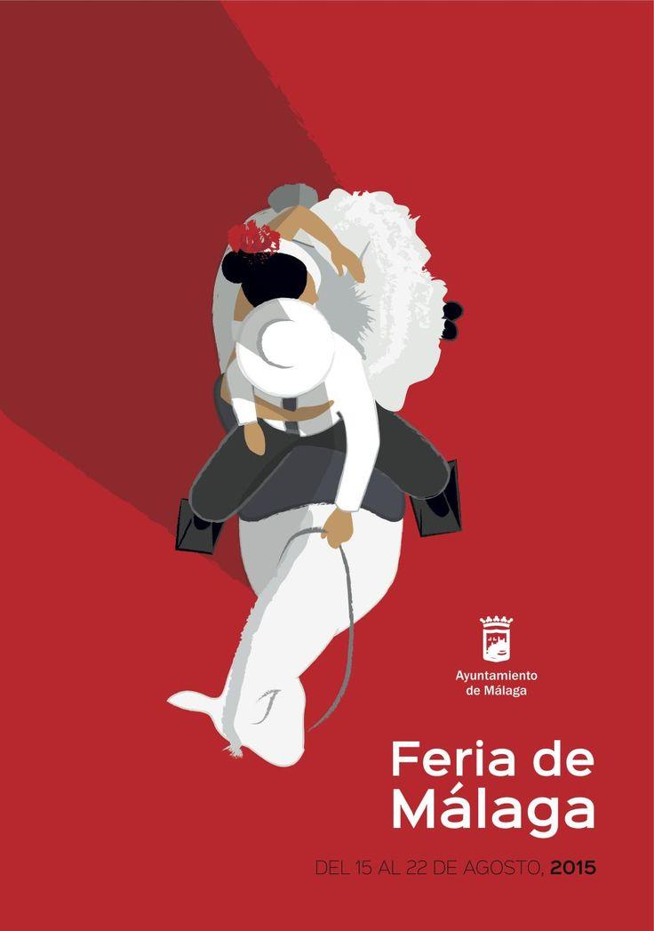 Cartel Feria de Málaga 2015 Autor: Carlos Capella.
