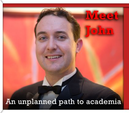 "Meet John. An Unplanned Path to Academia. ""The networks you have, conferences you go to and papers you present are vital in terms of your career after your PhD."" #G30 http://griffithcareers.com/2014/08/29/an-unplanned-path-to-academia-john-selby/"