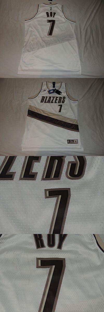 Men 158965: Nwt Brandon Roy Portland Trail Blazers Swingman Jersey 2X Adidas White Brown Nba -> BUY IT NOW ONLY: $75 on eBay!