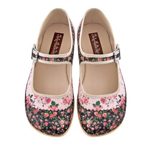 Hot Chocolate Design Womens Pandora Mary Jane Flat Multicoloured US Size: 9 Hot Chocolate Design,http://smile.amazon.com/dp/B00I3IYN4K/ref=cm_sw_r_pi_dp_S.Mwtb13VVW87Y60
