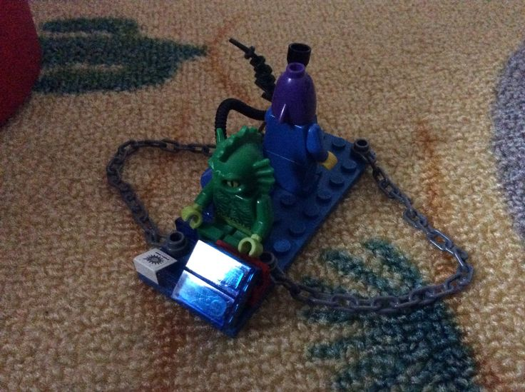 Lego bago nr. 8 sillie seamonster and fick fish and an hoberbixer picture 1