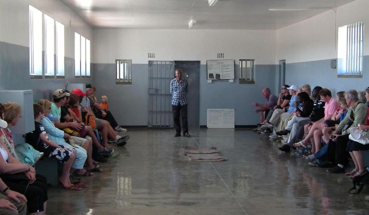 Robben Island, Cape Town. The single greatest thing about the trip is that your guide was actually imprisonned here with Nelson #Mandela.  It was an honour and a privilege to be his guest. This really is living history ... fascinating, moving and incredibly inspirational.