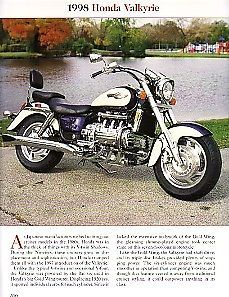 HAVE IT! 1998 Honda Valkyrie Motorcycle Article - Must See !!