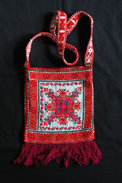 Mexican Bag Nahua by Teyacapan, via Flickr ~Santa Catarina, Acaxochitlan, Hidalgo