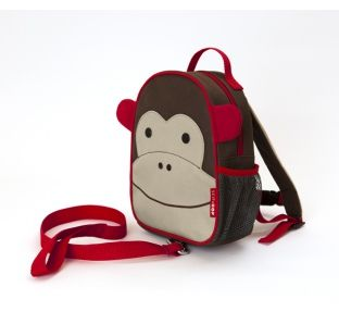 Skip Hop Monkey Zoo-Let Toddler Backpack With Reins at Wellies and Worms