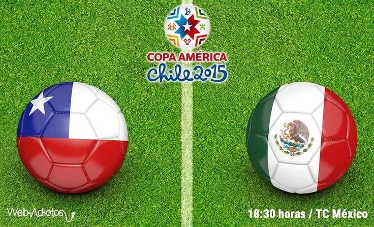 México vs Chile, Copa América 2015 ¡En vivo! - http://webadictos.com/2015/06/15/mexico-vs-chile-copa-america-2015/?utm_source=PN&utm_medium=Pinterest&utm_campaign=PN%2Bposts