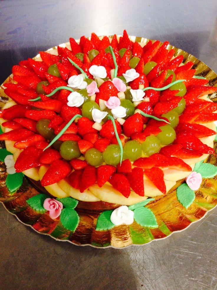 Torta frutta mascarpone
