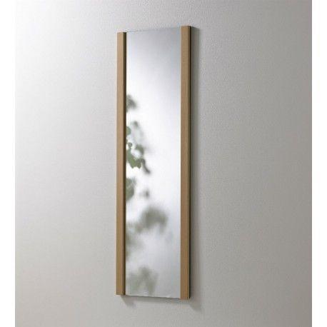KNAX 4 spejl til væg. Her i lyst eg sæbe
