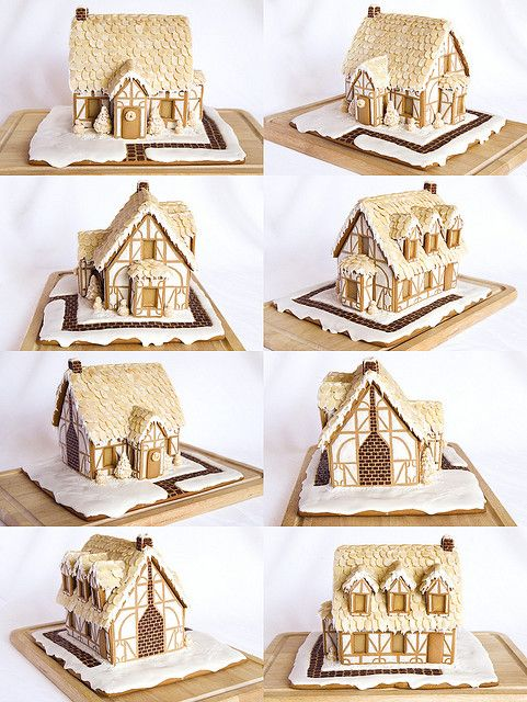 gingerbread cottage, looks like an English Tudor