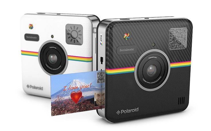 Polaroid Socialmatic camera - CES 2014: The top 12 best gadgets.  Originally floated as a concept back in 2012, the Android-based Socialmatic could revive the beloved Polaroid as we know it. An inkless printing system enables users to print stickers of their sepia-tinted images, and customise them using the 4.5 inch touchscreen. Slated for release by the end of 2014, it may be hipster, but it's also incredibly cool