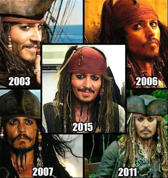 Captain Jack Sparrow is my favorite character in the Pirates of the Caribbean film series