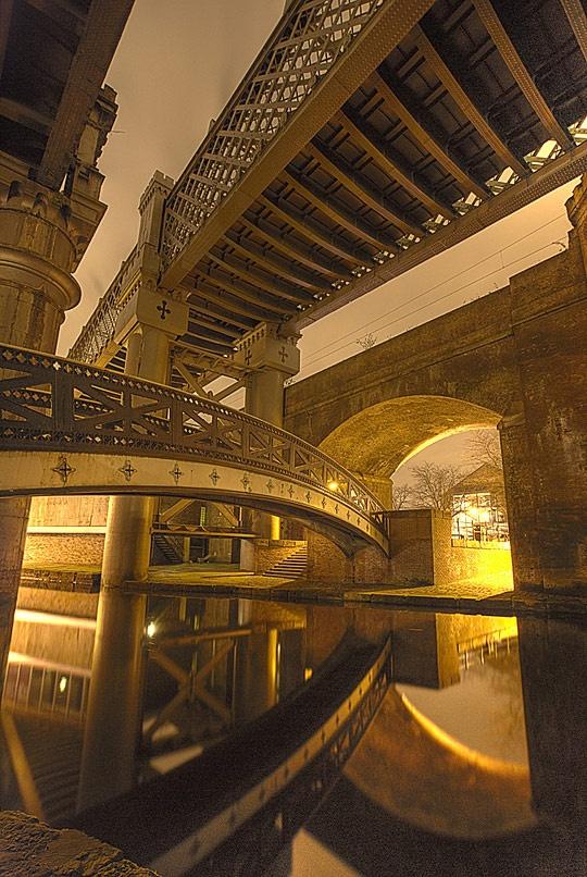 Castlefield Bridges, Manchester