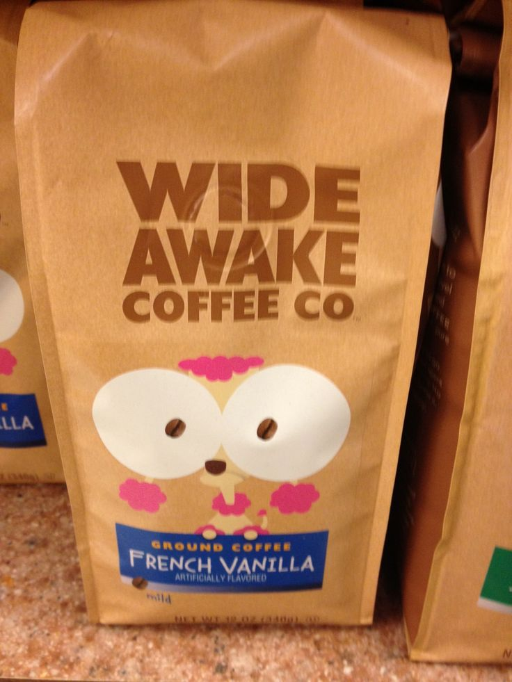 Wide Awake Coffee Co does great (fun) things with their retail packaging that make them really pop in-store.