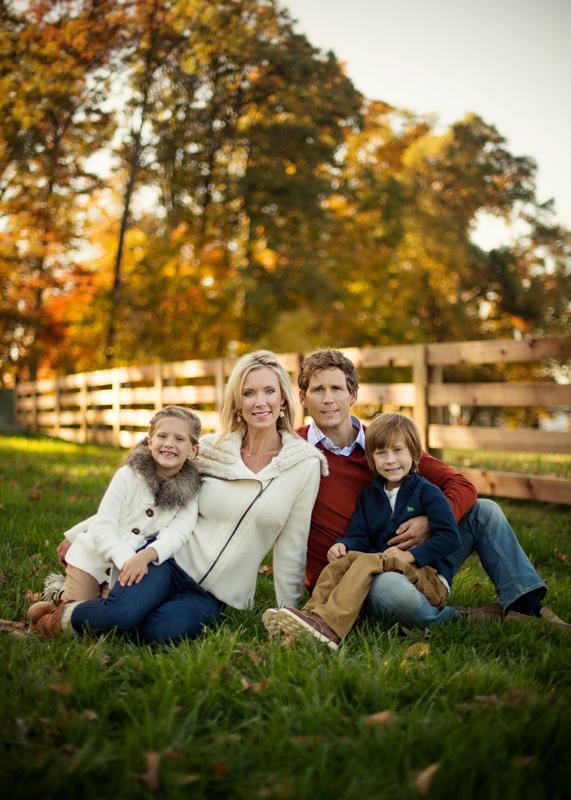 family posing, love the wardrobe